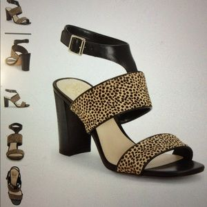 Vince camuto women's spotted high heels
